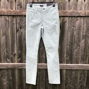 Not Your Daughters Jeans NYDJ Blue Cords 2 Jegging